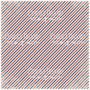 "deco vellum colored sheet oblique stripes 11.5""x11.5"""