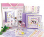 set for creating the children's photoalbum baby girl #002